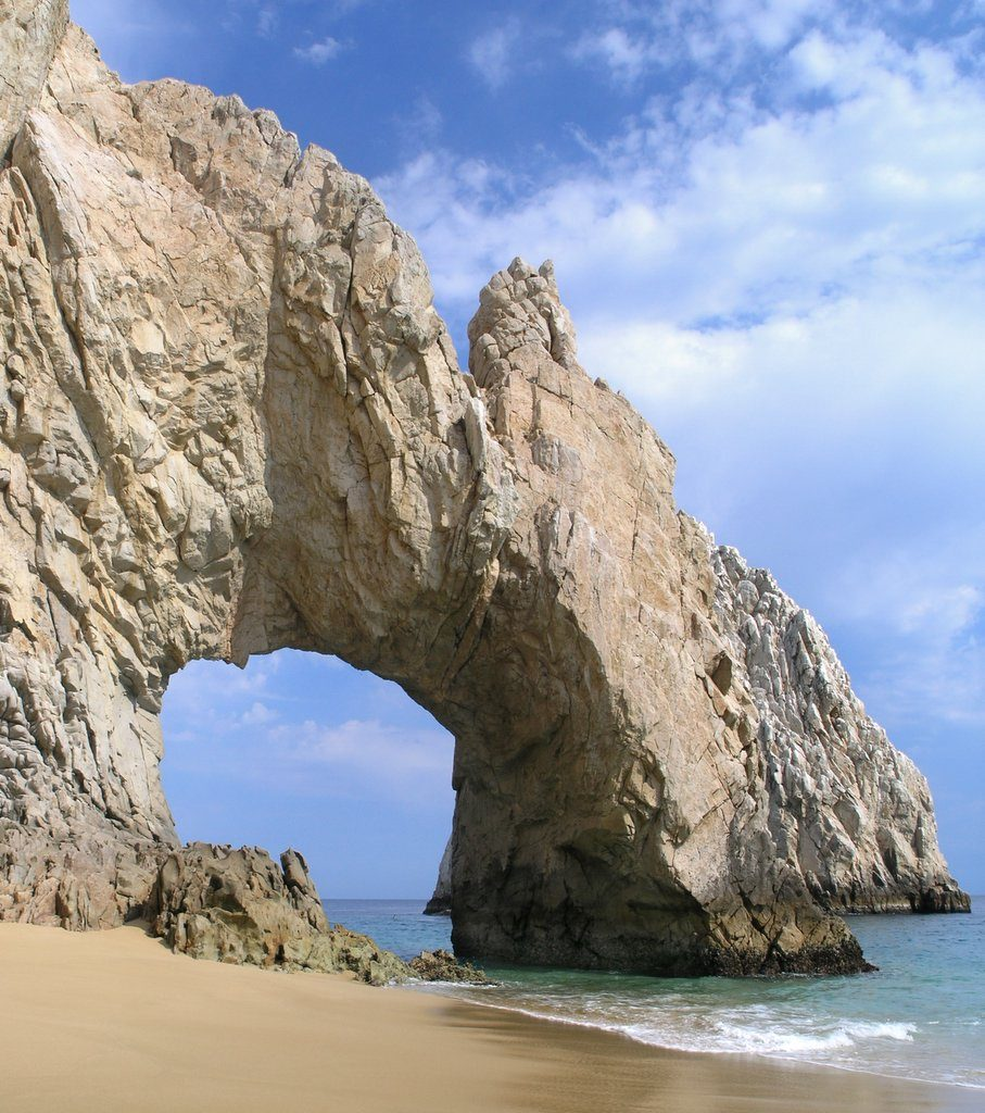 major landmark in Cabo San Lucas