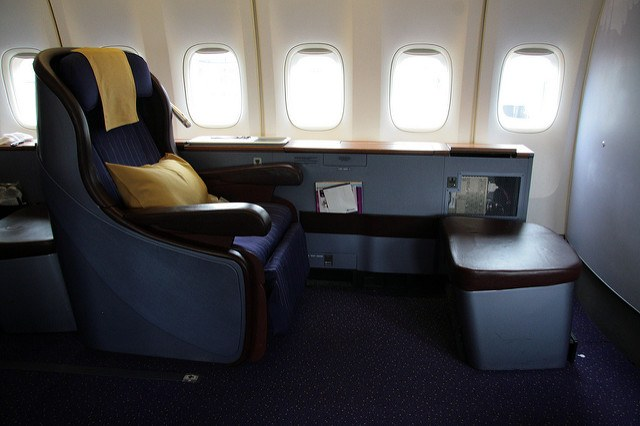 Flying First Class for Honeymoons