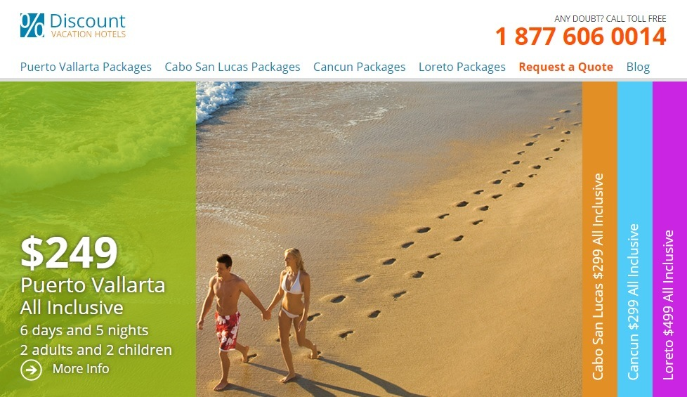 Discount Vacation Hotels Website